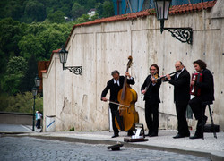 Music in the Streets in Prague