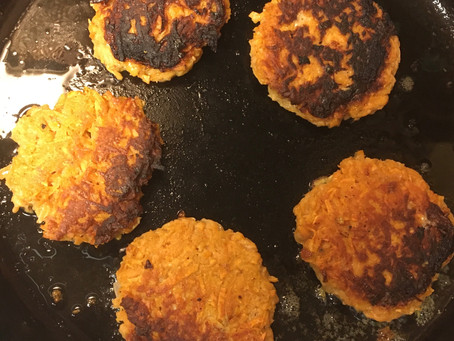 Postpartum Perfect Sweet Potato Pancakes
