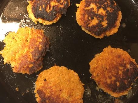 Postpartum Perfect Sweet Potato Pancakes
