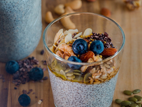 Cooling Fruity Chia Pudding