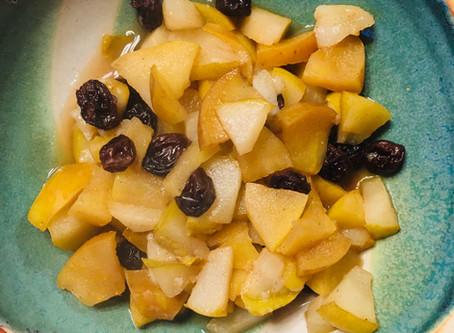 Postpartum Stewed Fruit