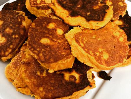Coconut Flour Pumpkin Pancakes
