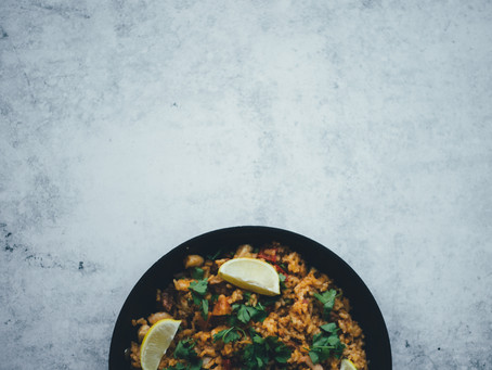 Postpartum Ginger Fried Rice