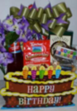 Happy Birthday gift baskets