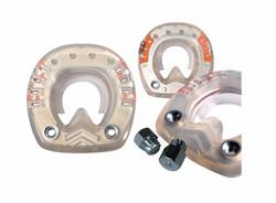 STS mit Seitenkappen, ringförmigen Metallkern und Gewinde