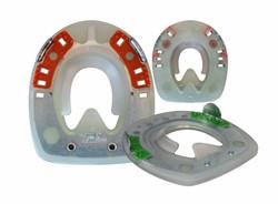 Duplo Beschläge mit Seitenkappen und ringförmigen Metallkern