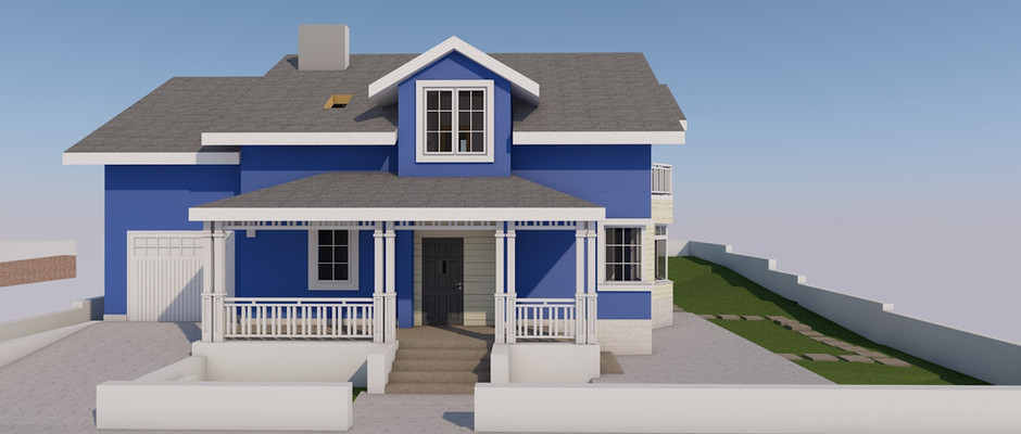 Проект дома (на стадии реализации)