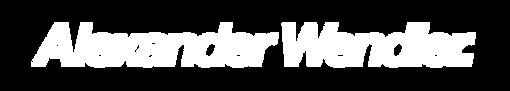 Alex Wendler Logo