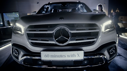 MERCEDES BENZ - 60 MINUTES WITH X