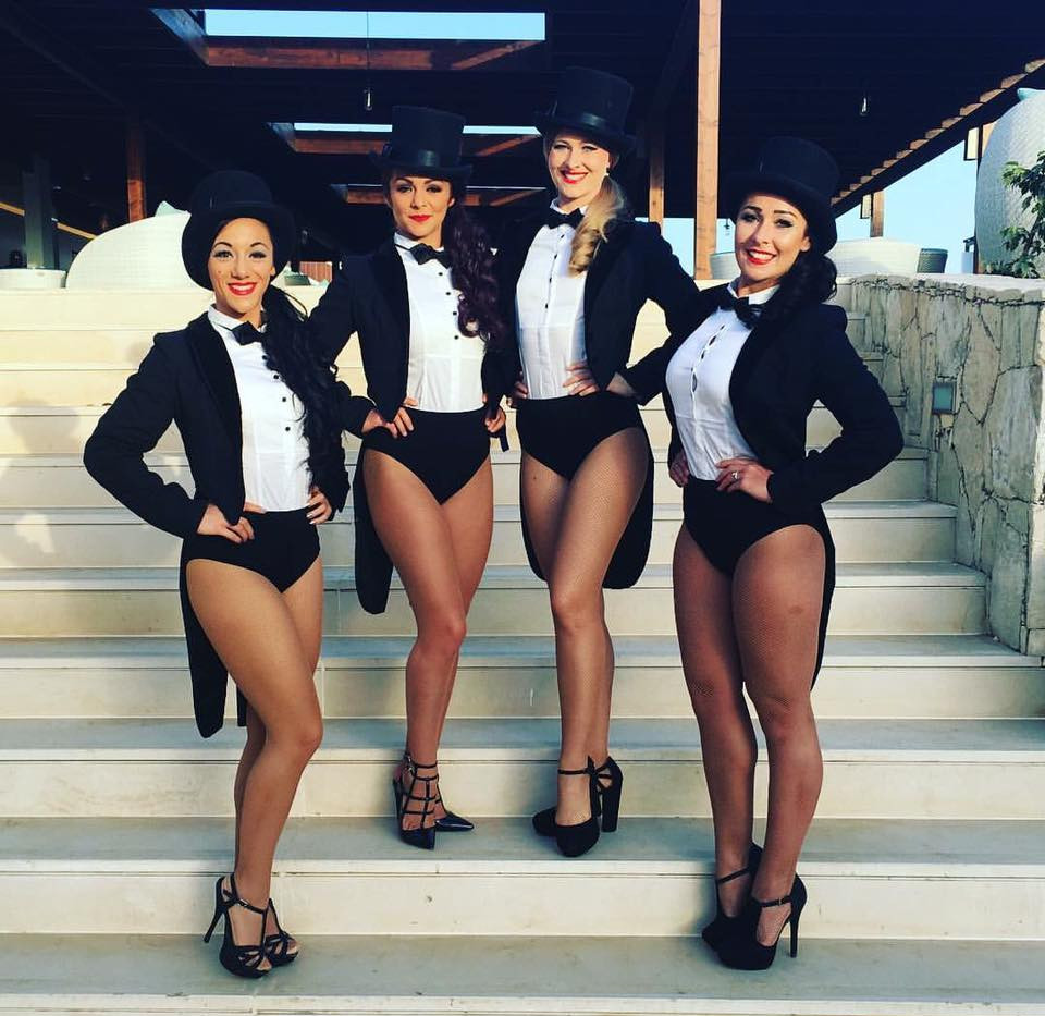 Cabaret dancers for hire
