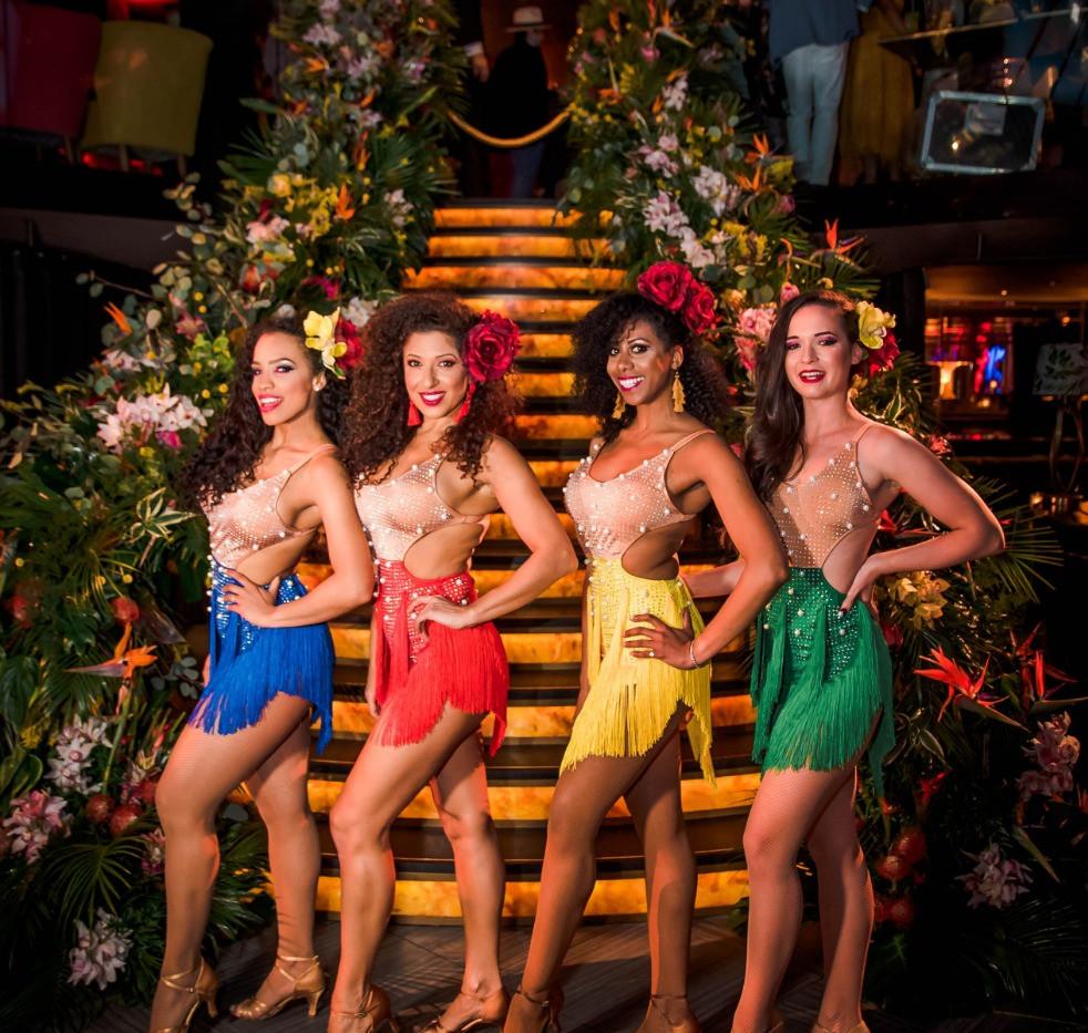 Hire Cuban Dancers London