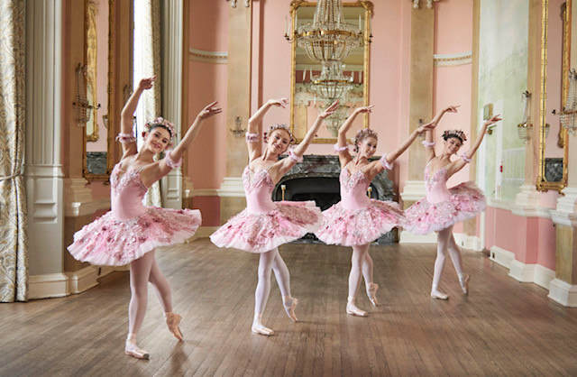 Hire pink ballet dancers London UK