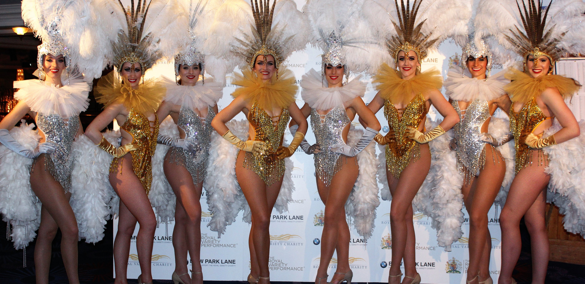 Book best showgirls in London for luxury corporate event