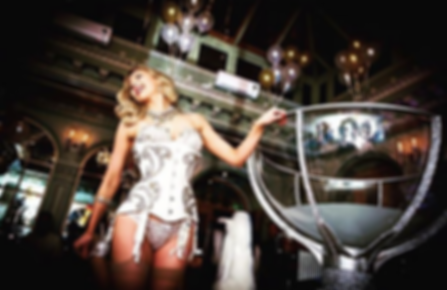 Book the best martini glass dancer and show in London Burlesque contortion martini glass prop dancer martini glass show party hire event hire