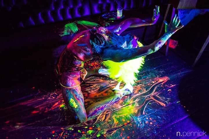 Book Unique UV Paint Dancer London
