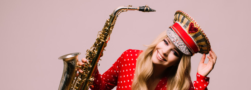 Hire LED Saxophone Player London