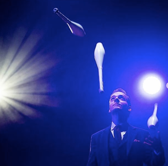 Book the best LED Jugglers from FantasyBox Entertainment