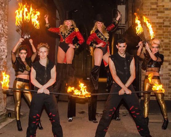 Fire Performers Meet & Greet