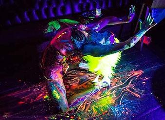 Book Best UV Paint Dancer UK