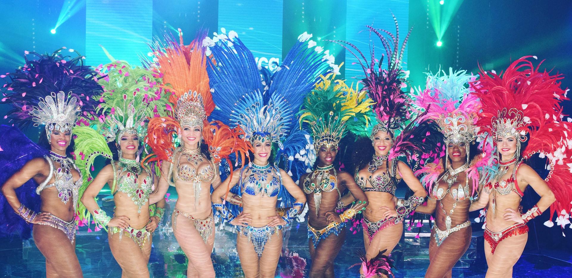 Hire Brazilian Samba Dancers