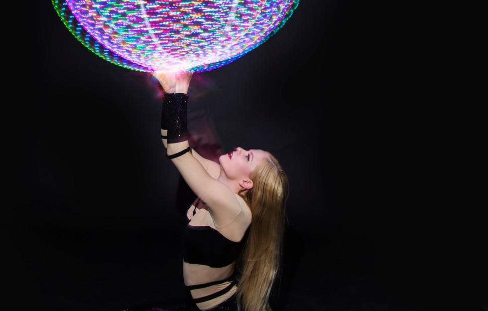 Hire LED Hula Hoopers London UK