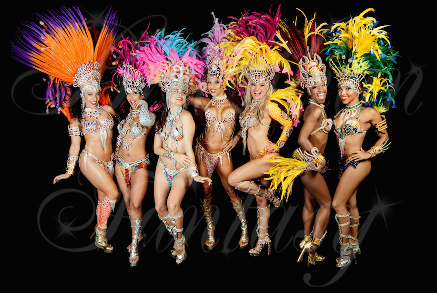 Hire best Brazilian carnival show london