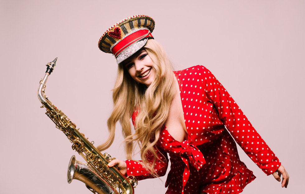 Hire LED Saxophone Player London