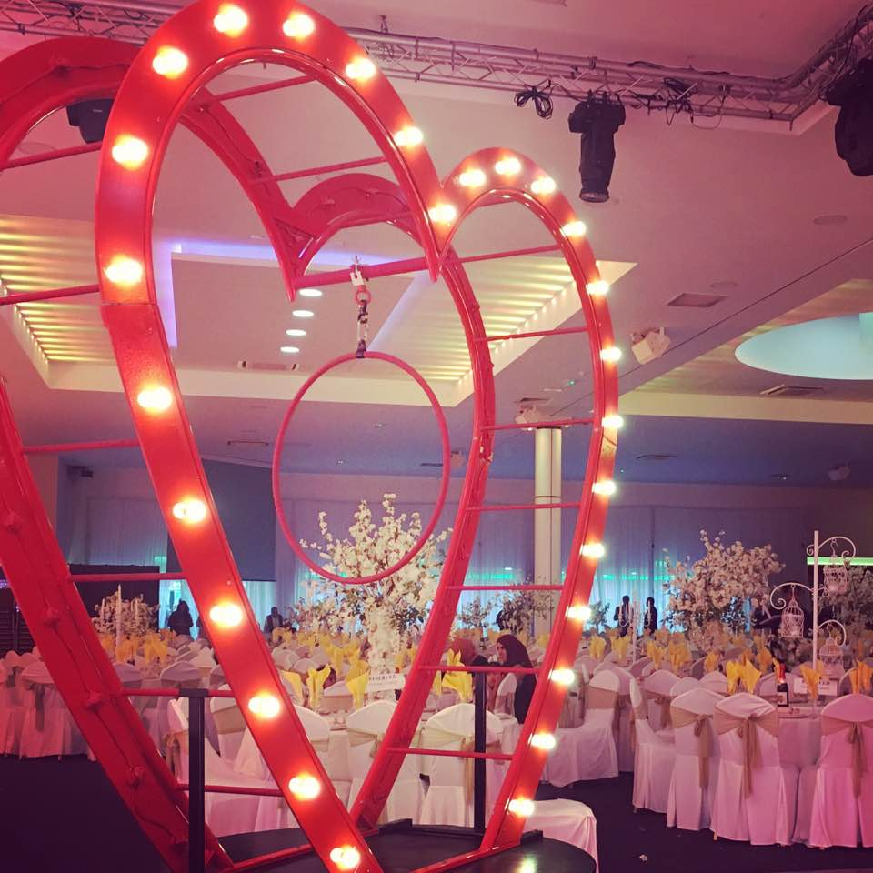 Hire Giant Heart Prop London