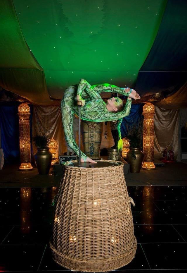 Hire Contortionists for your Event