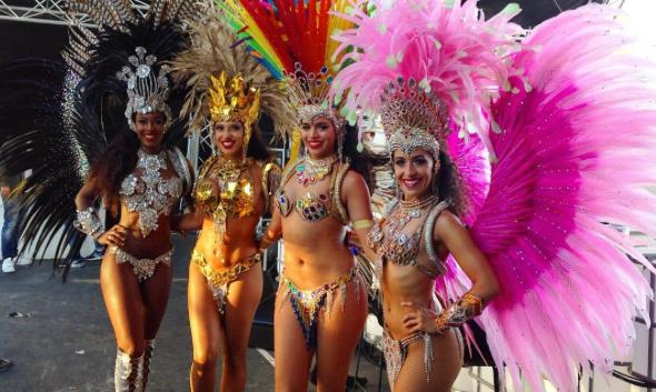 Hire Brazilian Samba Dancers UK
