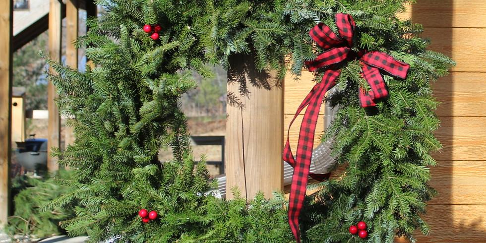 Wreath Workshop Option 2,  Saturday, December 5th, 2020