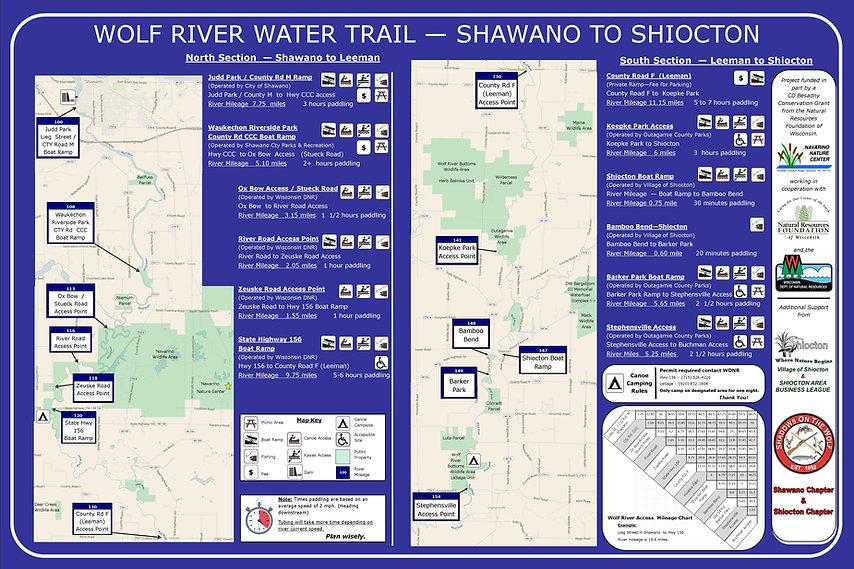 Water Trail Signage  4-2-2019   River mi