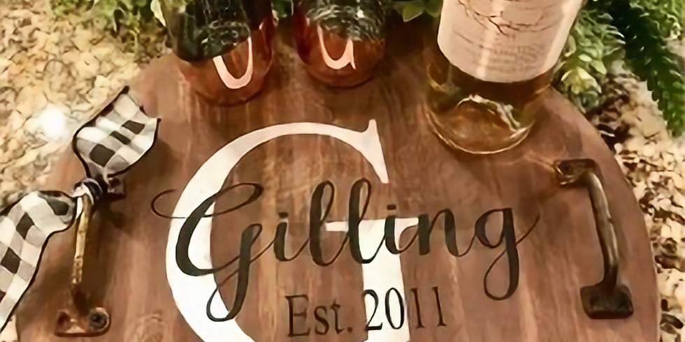 Customized Wine Tray Workshop