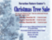 Christmas Tree Sale poster 2019 Landscap