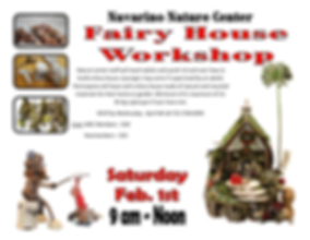 Fairy House Workshop Landscape Feb.  201