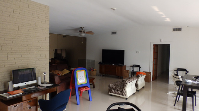 Living Room Before the Renovation