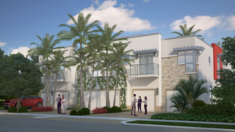 Townhomes Development, Delray Beach, FL