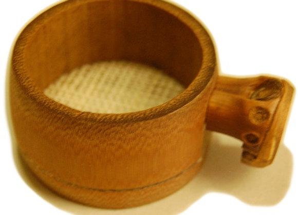 BAMBOO TEA STRAINER (HANGING)
