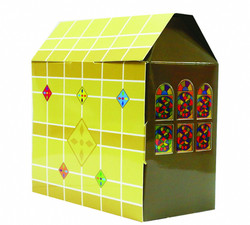 House Style Paper Gift Box