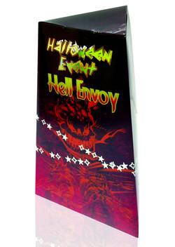 Halloween PVC Box_orange