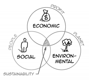 What does it mean to be a sustainable individual or organisation?
