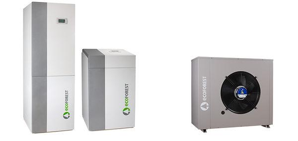 Ecoforest by Tenova énergies renouvelables, des pompes à chaleur en géothermie, aérothemie et hybride. Aussi Ochsner, Stiebel Eltron, Dimplex, Zehnder et Jaga by Tenova