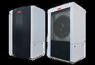 La Compac-ISX de Compacline est une pompe à chaleur intérieure en aérothermie (air/eau)