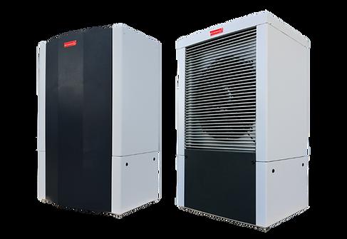 Compacline présente la Compac-ISX. Une pompe à chaleur intérieure en Aérothermie (air/eau)