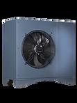 La compac ASX de Compacline et une pompe à chaleur aérothermie (air/eau)