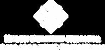 White diamond-shaped geometric logo on moss-green background