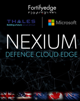 Thales and Nexium Defence Cloud Edge Wins, Microsoft Defence and Intelligence partner of the year 2021