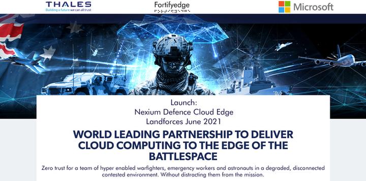 Nexium Defence Cloud Edge GLOBAL launch.