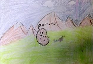 Potato, 11 year old Dwarf Paladin