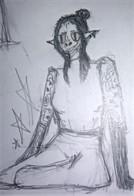 Starmarlin, 14 year old Half-Elf Warlock